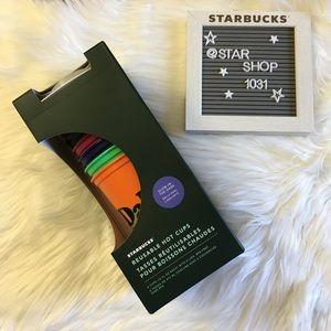🖤 Starbucks glow in the dark reusable hot cups🖤